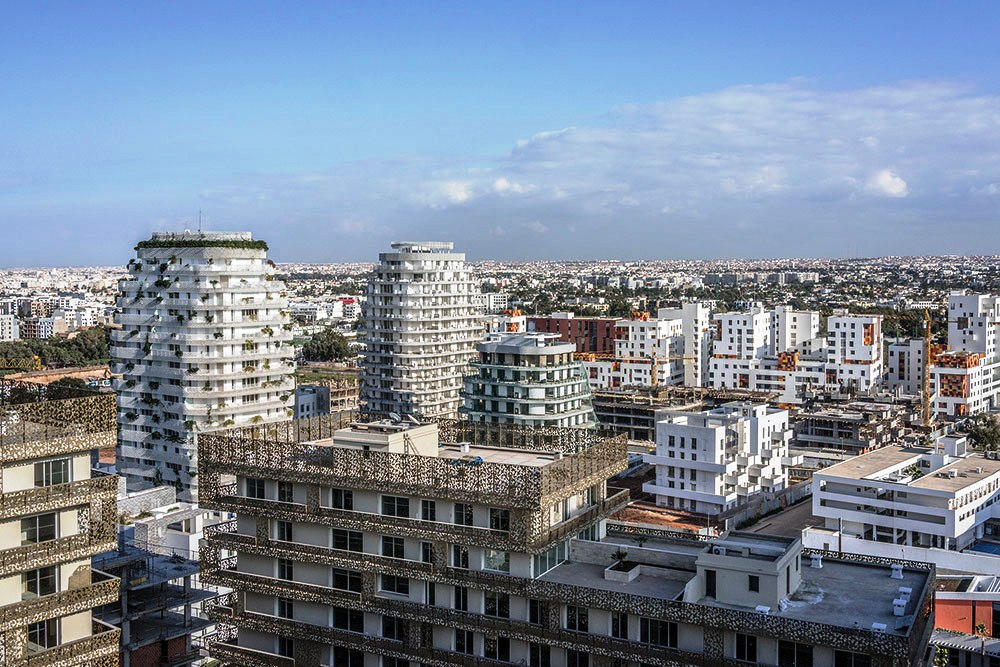 Un projet d'un hectare et demi  à Casablanca Finance City