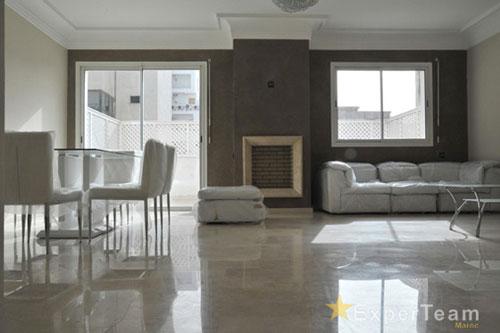 A louer appartement meubl 100 m terrasses de 80 m for Appartement meuble a louer a casablanca
